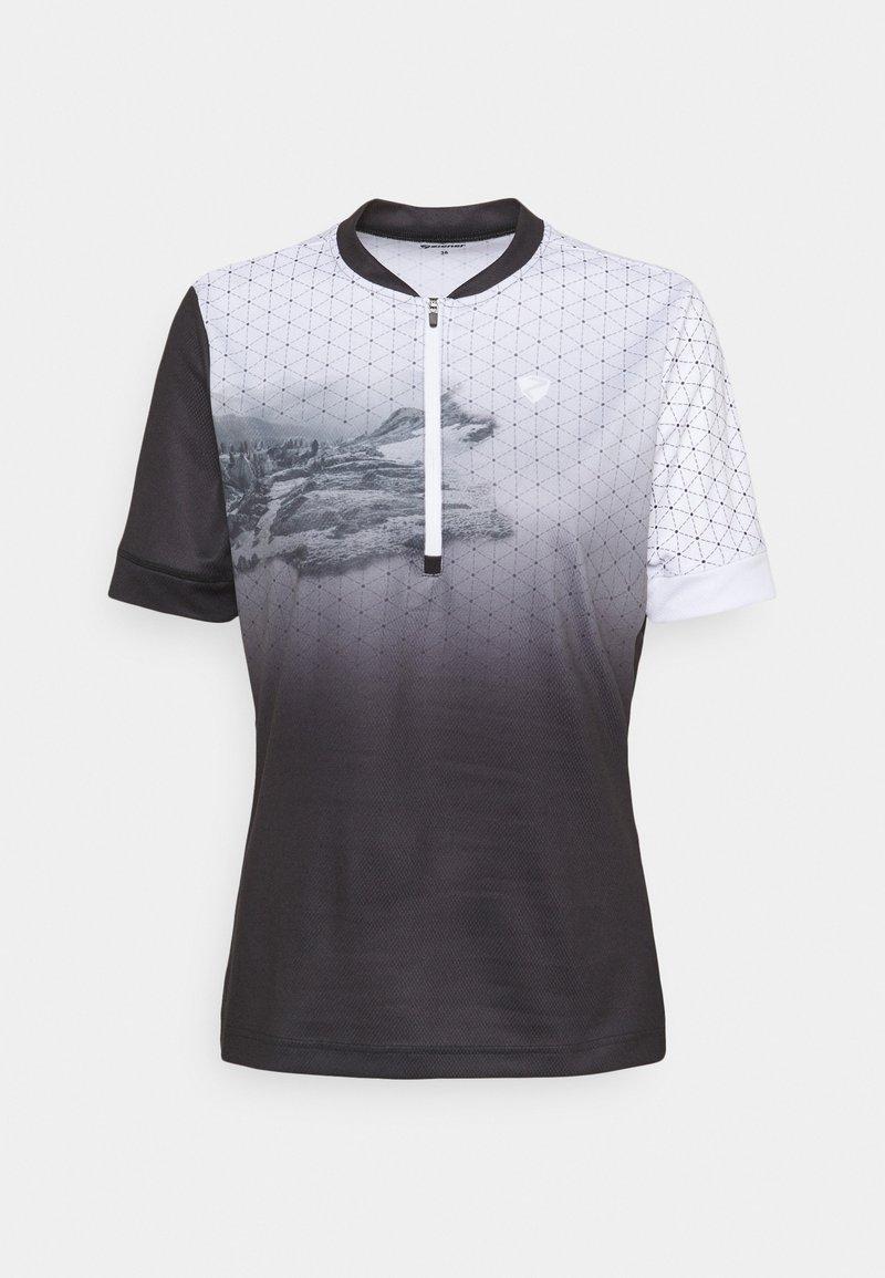 Ziener - NADINKA LADY - T-Shirt print - black