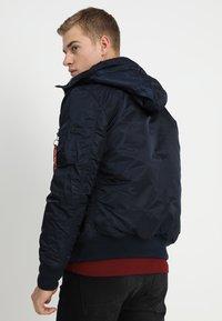 Alpha Industries - HOODED STANDART FIT - Light jacket - rep blue - 2