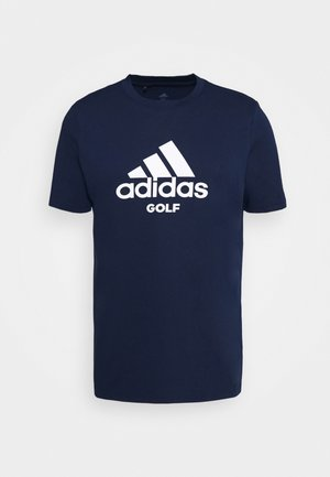 PERFORMANCE SPORTS GOLF SHORT SLEEVE GRAPHIC TEE - T-shirts med print - collegiate navy