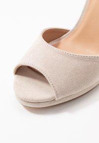 Anna Field - High heeled sandals - taupe - 2