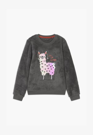 TEEN GIRLS - Fleece jumper - antra