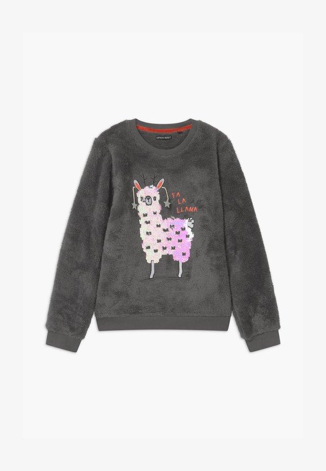 TEEN GIRLS - Fleece jumper - antra