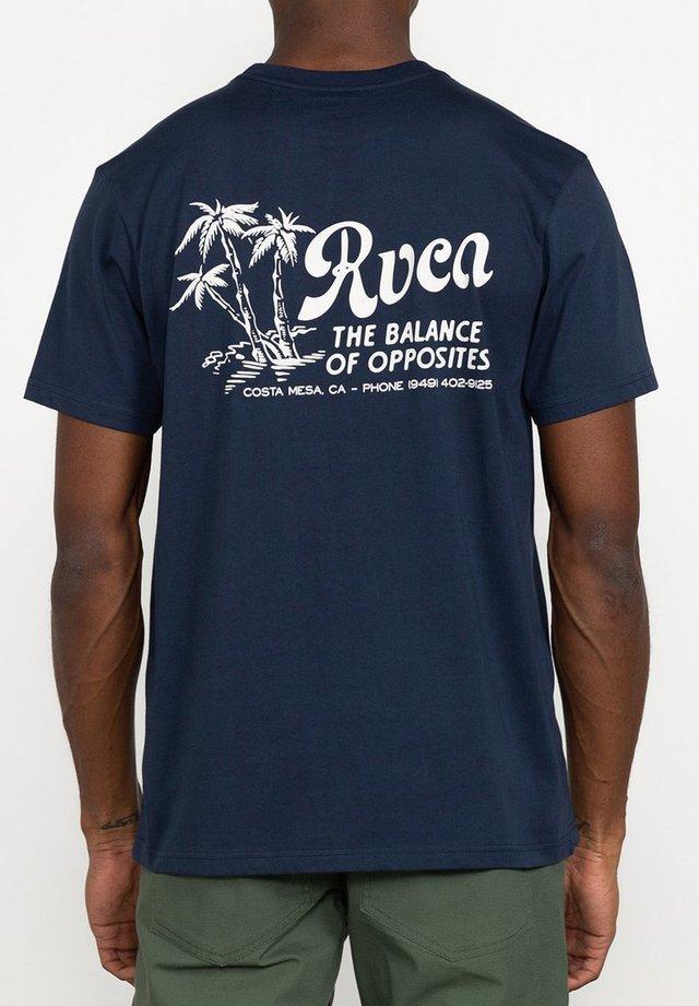 T-shirt imprimé - moody blue