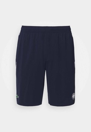 TENNIS SHORTS - Sports shorts - navy blue/white