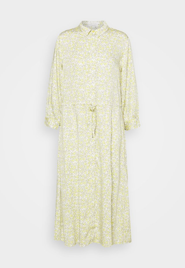 DRESS DRAWSTRING - Sukienka koszulowa - mellow yellow