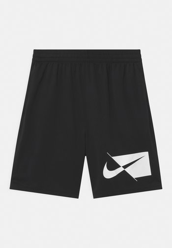 PLUS - Sports shorts - black/white
