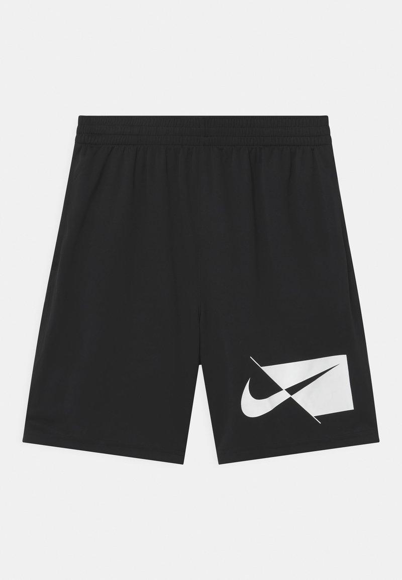 Nike Performance - PLUS - Krótkie spodenki sportowe - black/white