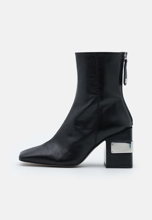HARRIS BLOCK - High heeled ankle boots - black