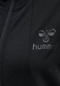 Hummel - SELBY  - Zip-up hoodie - black - 3