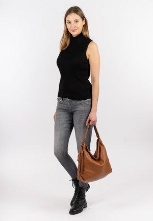ELIANA - Handbag - cognac