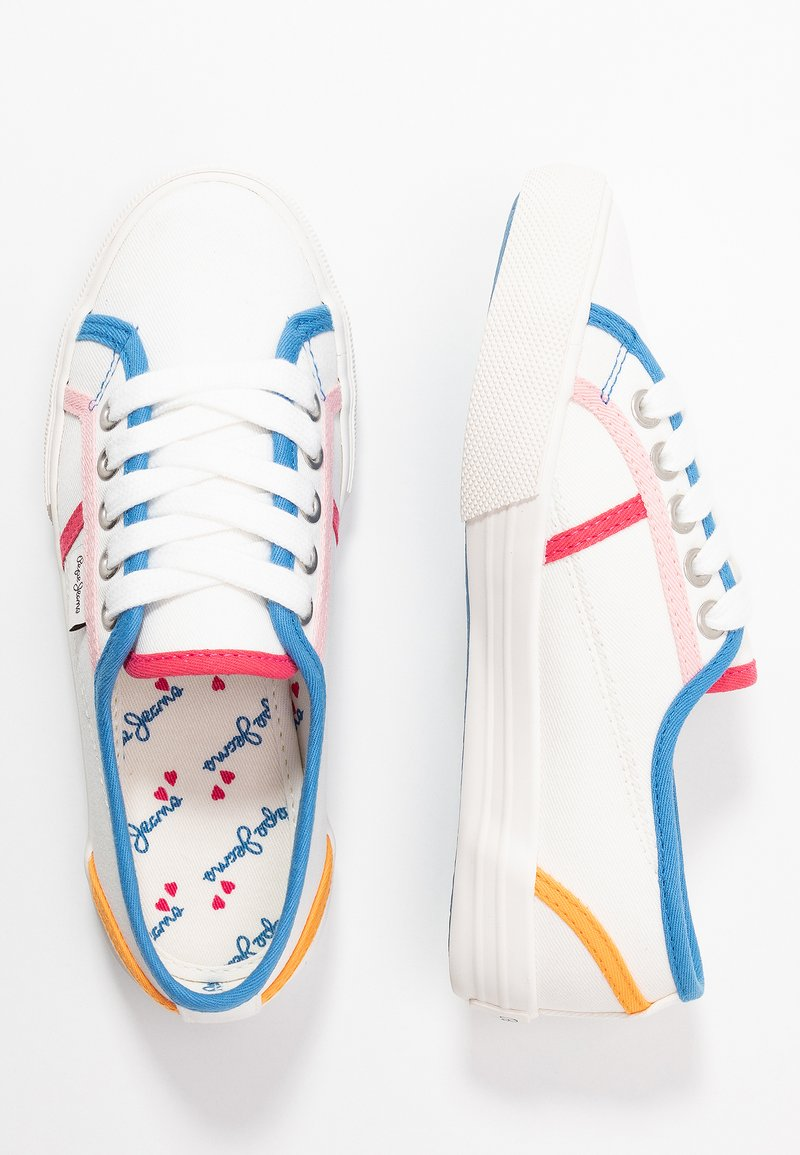 Pepe Jeans - BAKER BINDING - Trainers - white