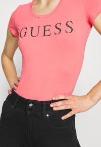 Guess - T-shirt print - las palmas neon - 6