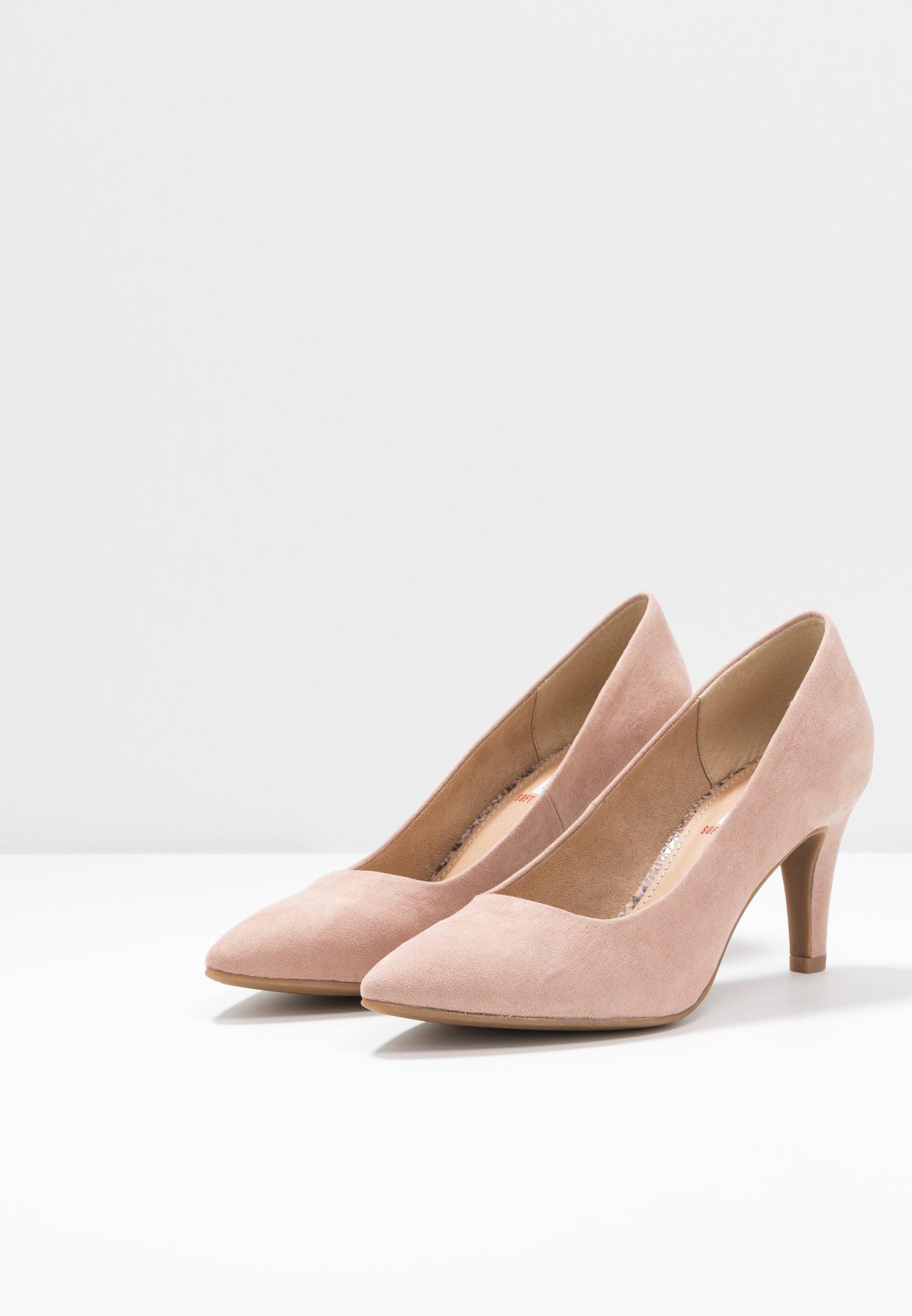 s.Oliver Klassiske pumps - rose