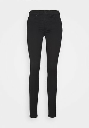 DELUXE - Jeans Skinny Fit - black dark quick rinse