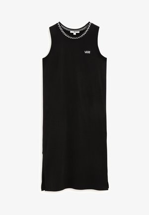 WM KALIE TANK MIDI DRESS - Jerseykjoler - black