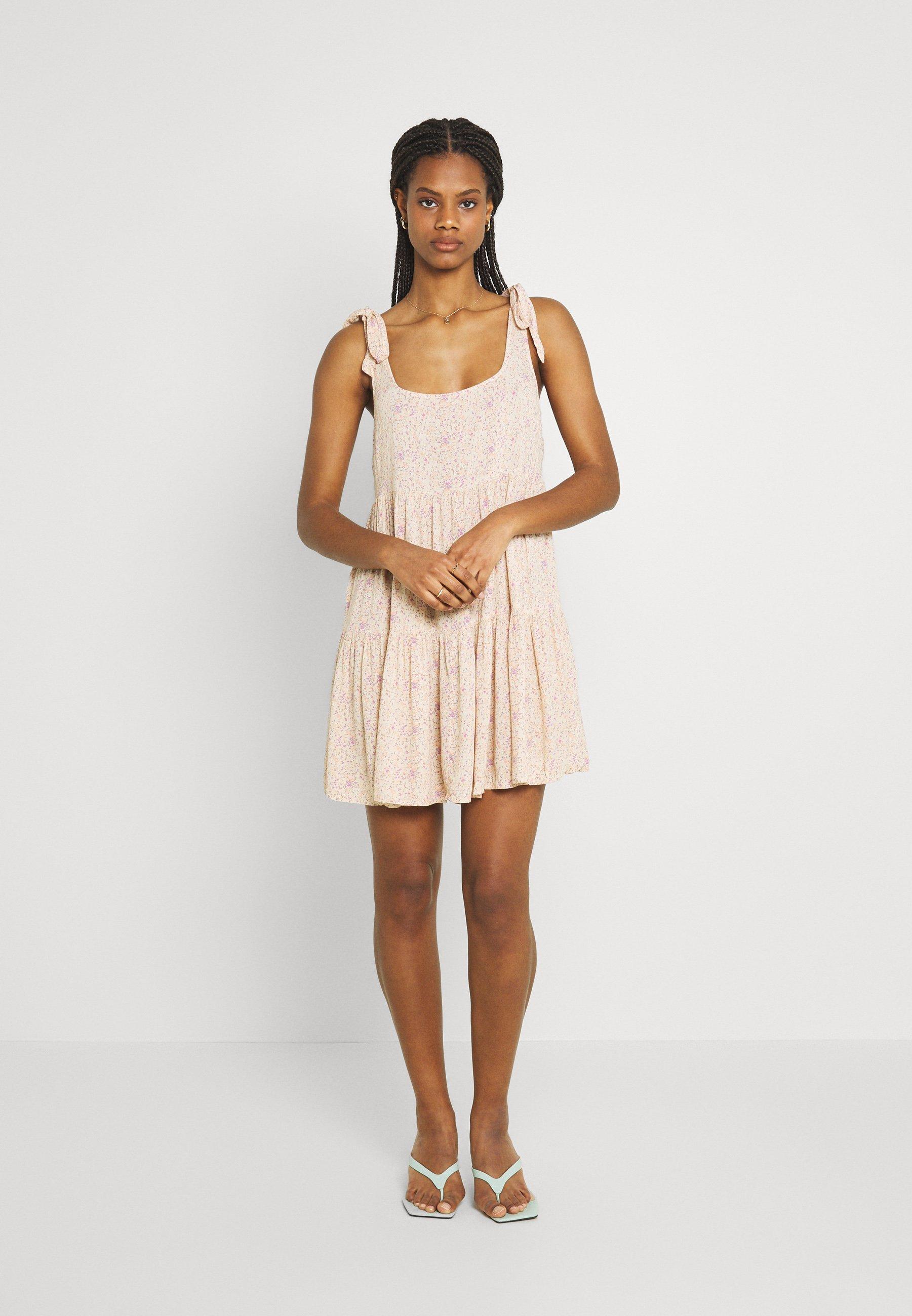 Women OTT TIE STRAP BABYDOLL - Day dress