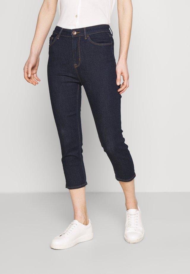 CROPPED - Skinny džíny - blue denim