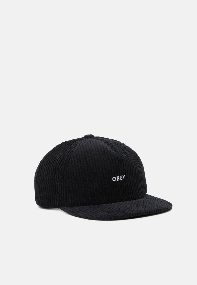 Obey Clothing - BOLD STRAPBACK UNISEX - Lippalakki - black