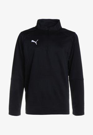 LIGA TRAINING ZIP  - Koszulka sportowa - black/white
