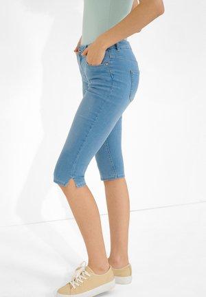 Denim shorts - light stoned