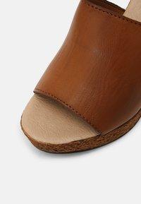 Tata Italia - Heeled mules - brown - 7