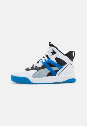 BACKCOURT MID UNISEX - High-top trainers - white/blue fog/black/future blue