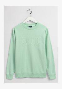 GANT - Sweatshirt - pastel green - 1