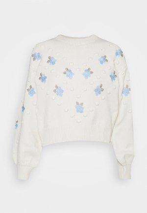 FLORA - Pullover - cream