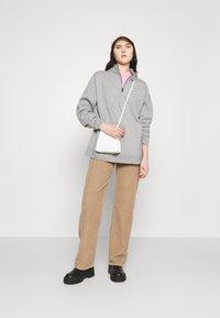 Nike Sportswear - TREND - Sweatshirt - grey heather/matte silver/white - 1