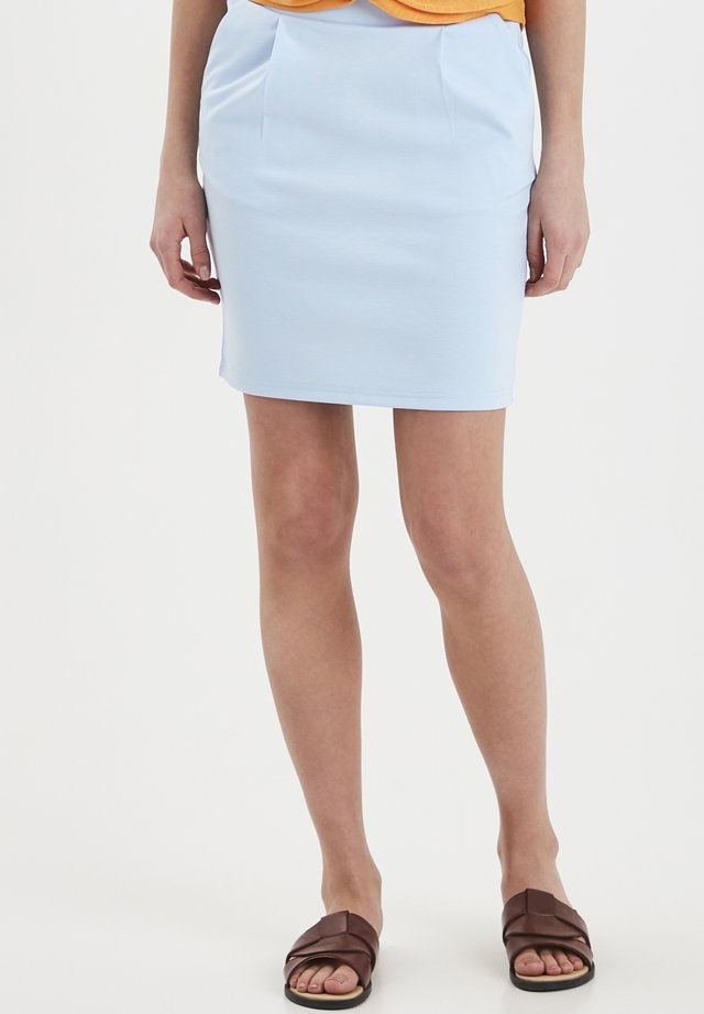 IHKATE SK - Pencil skirt - cool blue