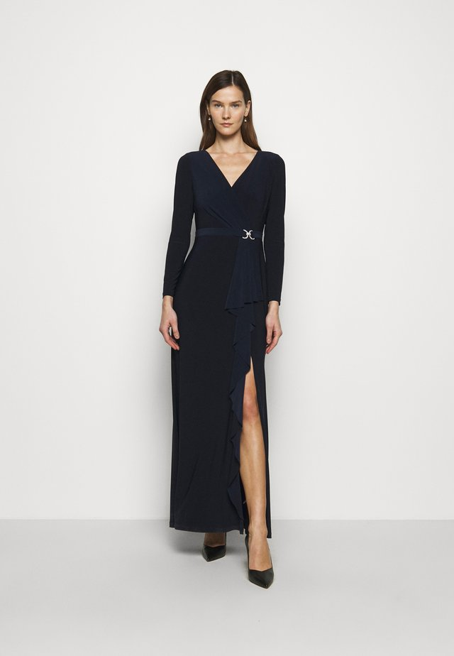 CLASSIC LONG GOWN TRIM - Suknia balowa - lighthouse navy