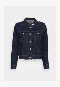 Mos Mosh - RAVEN  JACKET - Denim jacket - dark blue - 3
