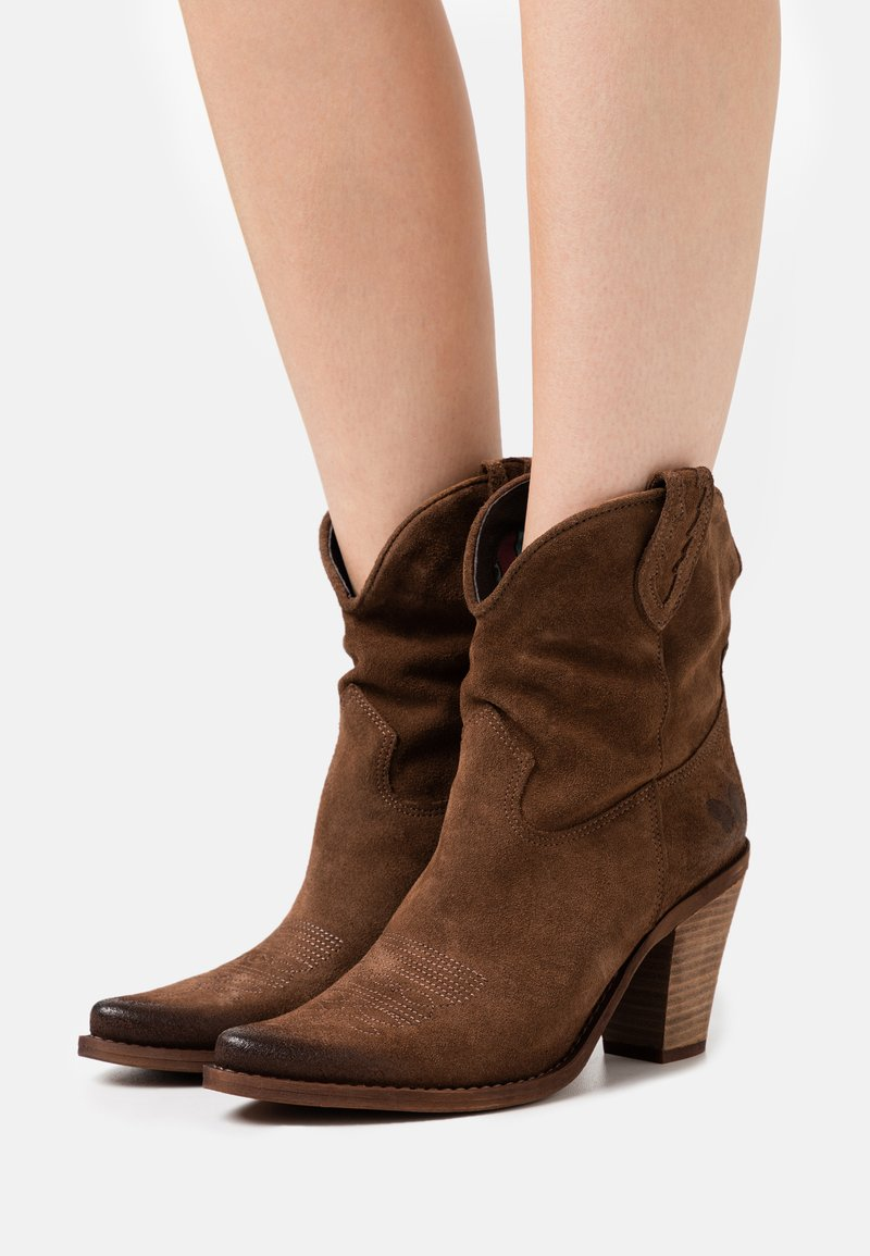 Felmini - STONES - High heeled ankle boots - marvin brown