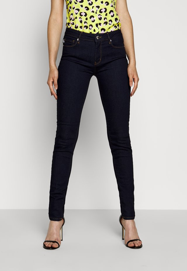 Jeans Skinny Fit - denim rinse washed