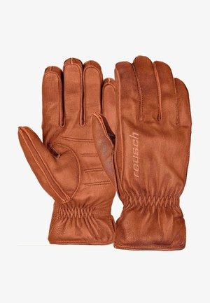 Gloves - maroon