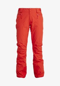 The North Face - PRESENA PANT - Ski- & snowboardbukser - fiery red - 5