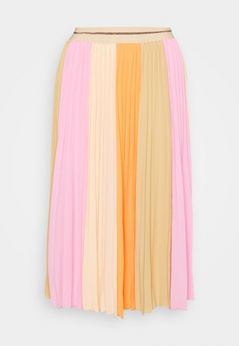 A-line skirt - peach parfait
