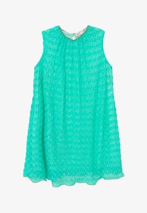 Jumper dress - turquoise