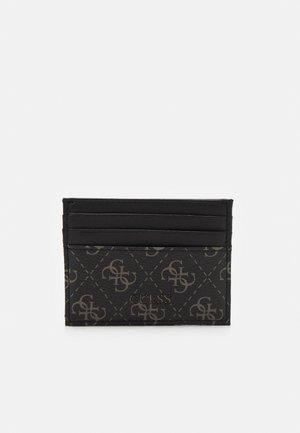 VEZZOLA CARD CASE UNISEX - Wallet - dark black