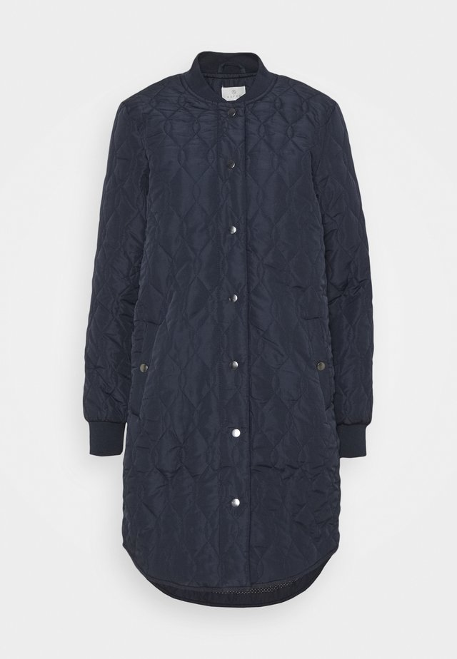 SHALLY QUILTED COAT - Winter coat - midnight marine
