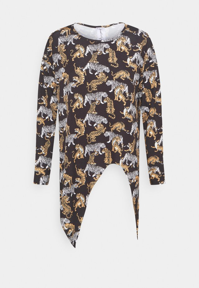 LONGSLEEVE LOOSE FIT TEE - Long sleeved top - lion