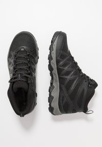 Columbia - PEAKFREAK X2 MID OUTDRY - Hiking shoes - black/titanium - 1
