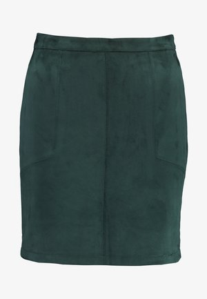 PATCH POCKET SKIRT - Minijupe - green