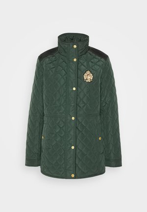 Short coat - hunter green