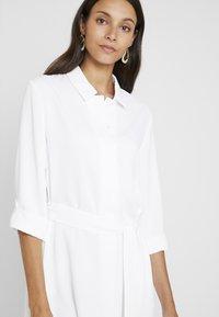 Cortefiel - TEXTURED STYLE DRESS - Shirt dress - white - 3