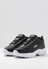Fila - STRADA - Sneaker low - black - 4