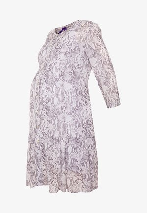 INDIETIERED BUTTON FRONT DRESS - Sukienka letnia - animal print