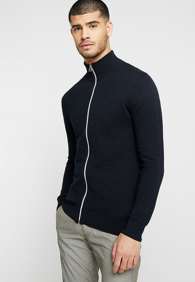 BART ZIP - Cardigan - navy