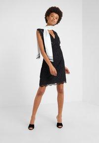 Pinko - NINNARE ABITO - Cocktail dress / Party dress - nero bianco - 1