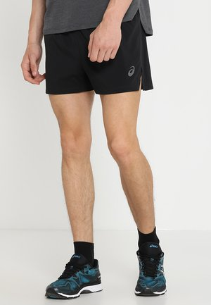 SILVER SPLIT SHORT - Sports shorts - performance black